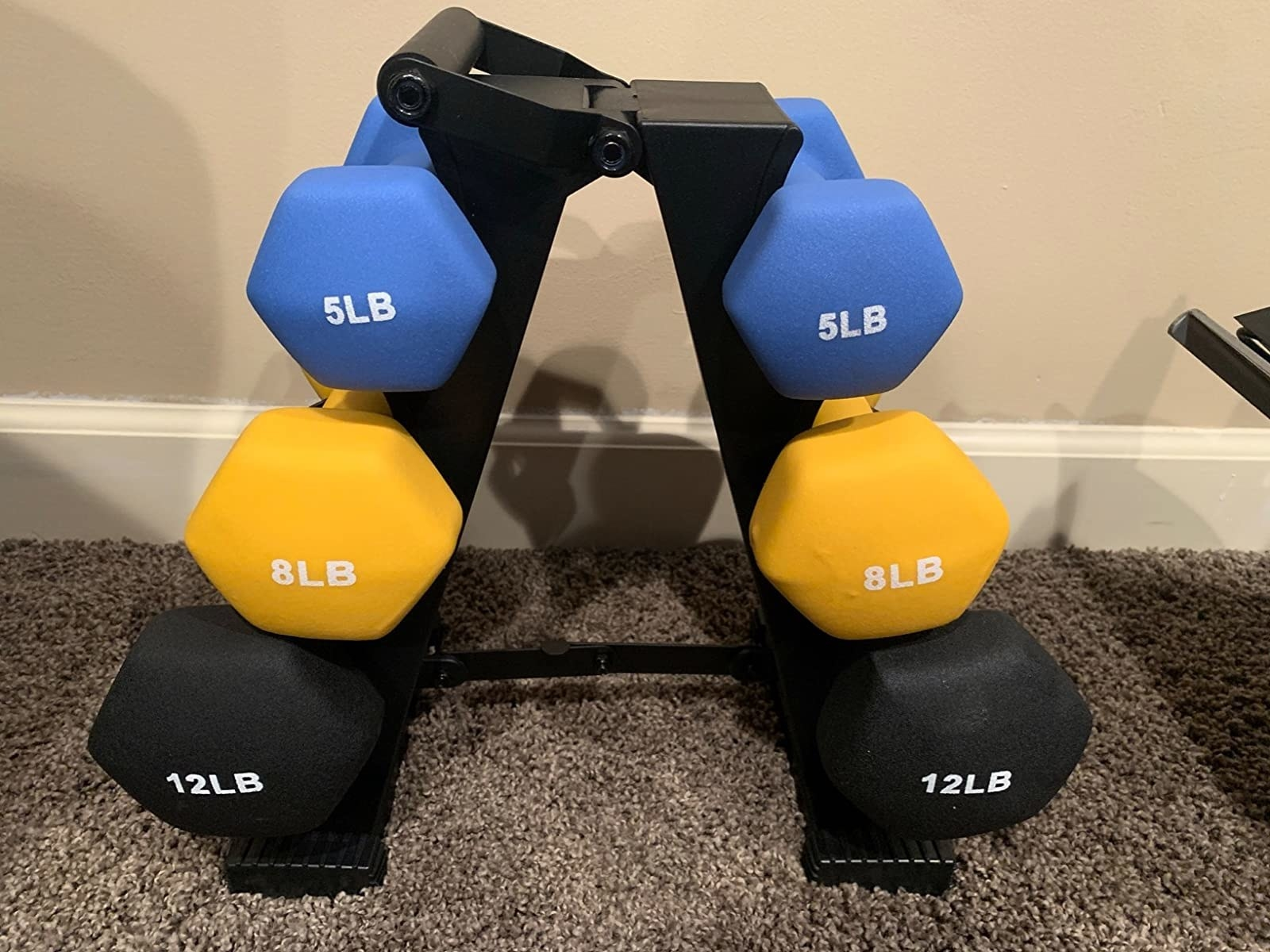 The weights