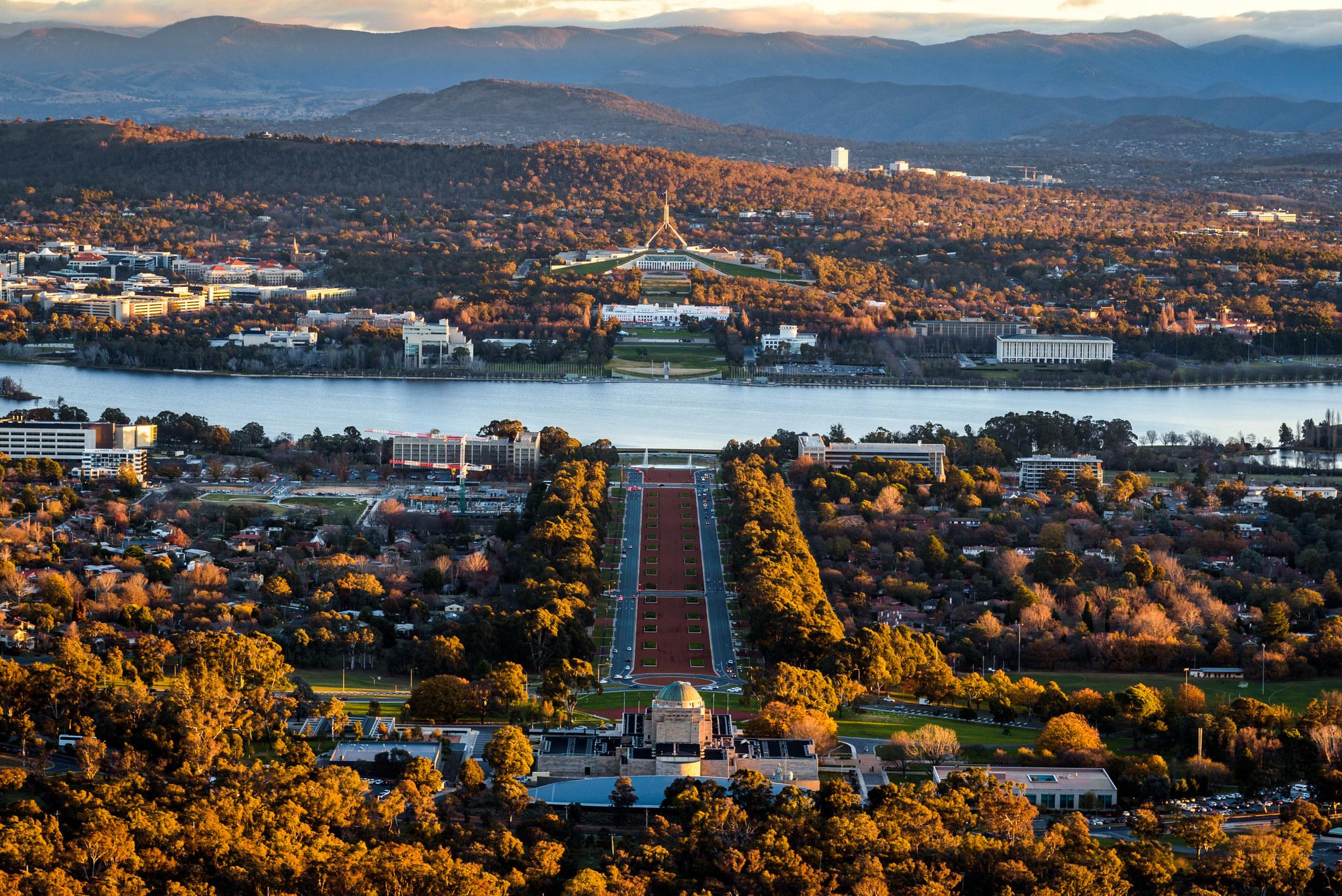 Canberra, Australia's capital city