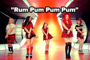 rum pum pum pum