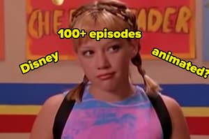 is lizzie mcguire 100+ eps disney or animated