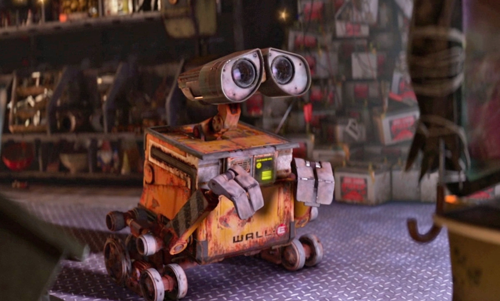 Wall-E looking very sad