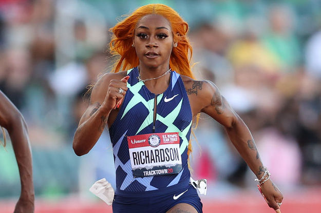 This Video Of Sha'Carri Richardson Qualifying For The Olympics Is Going Mega Viral And We Have No Choice But To Stan
