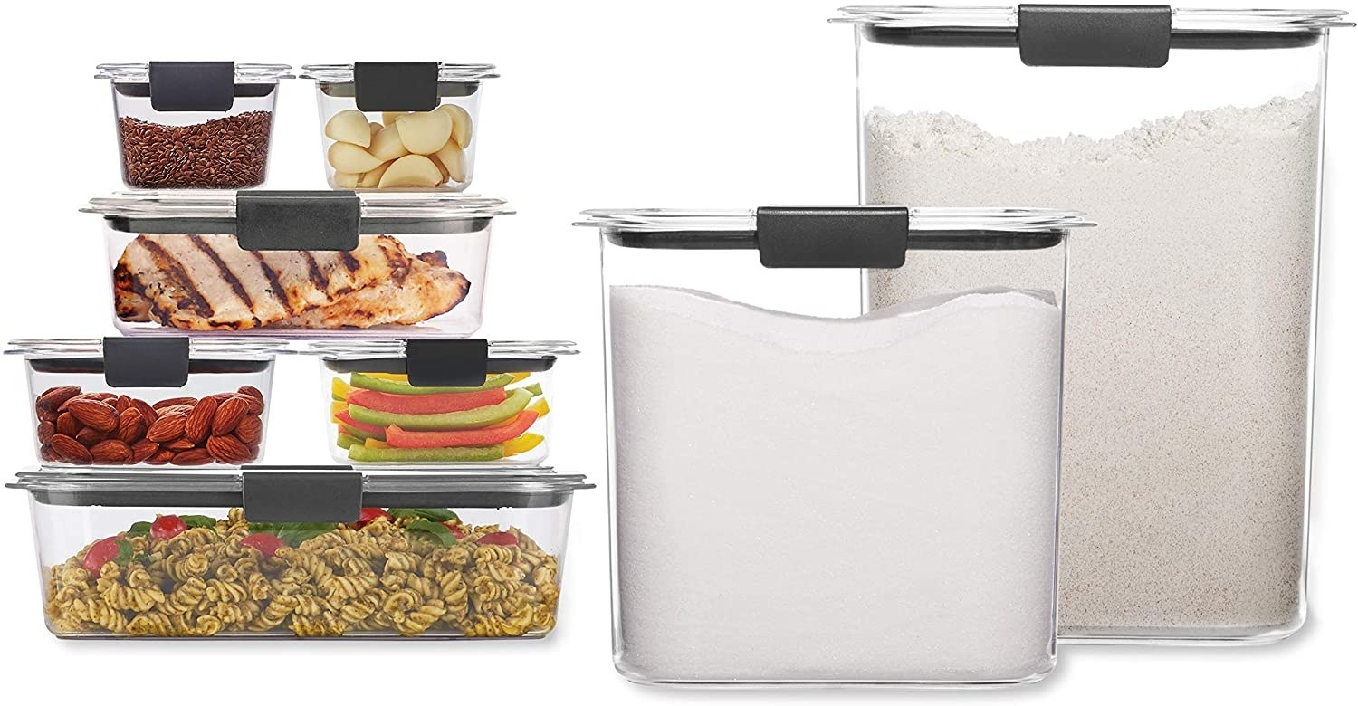clear food containers