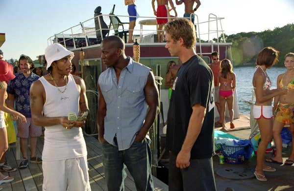 The key characters of Dominic's crew - Roman Pearce and Tej Parker, made their entry in this movie