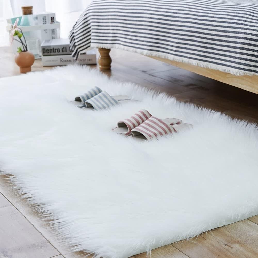 the white rug