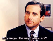 """Michael from """"The Office"""": """"Why are you the way that you are?"""""""