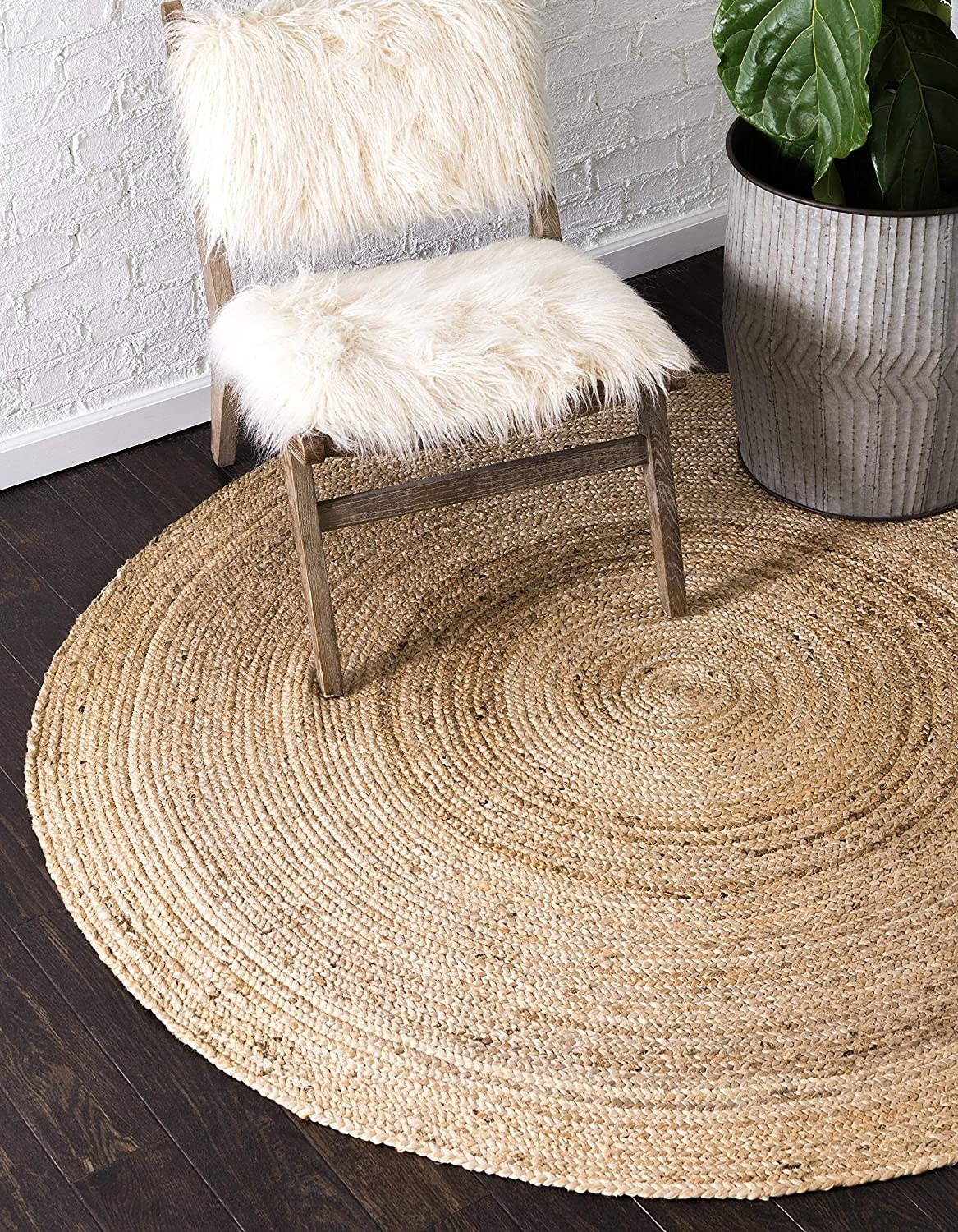 the rug with a chair