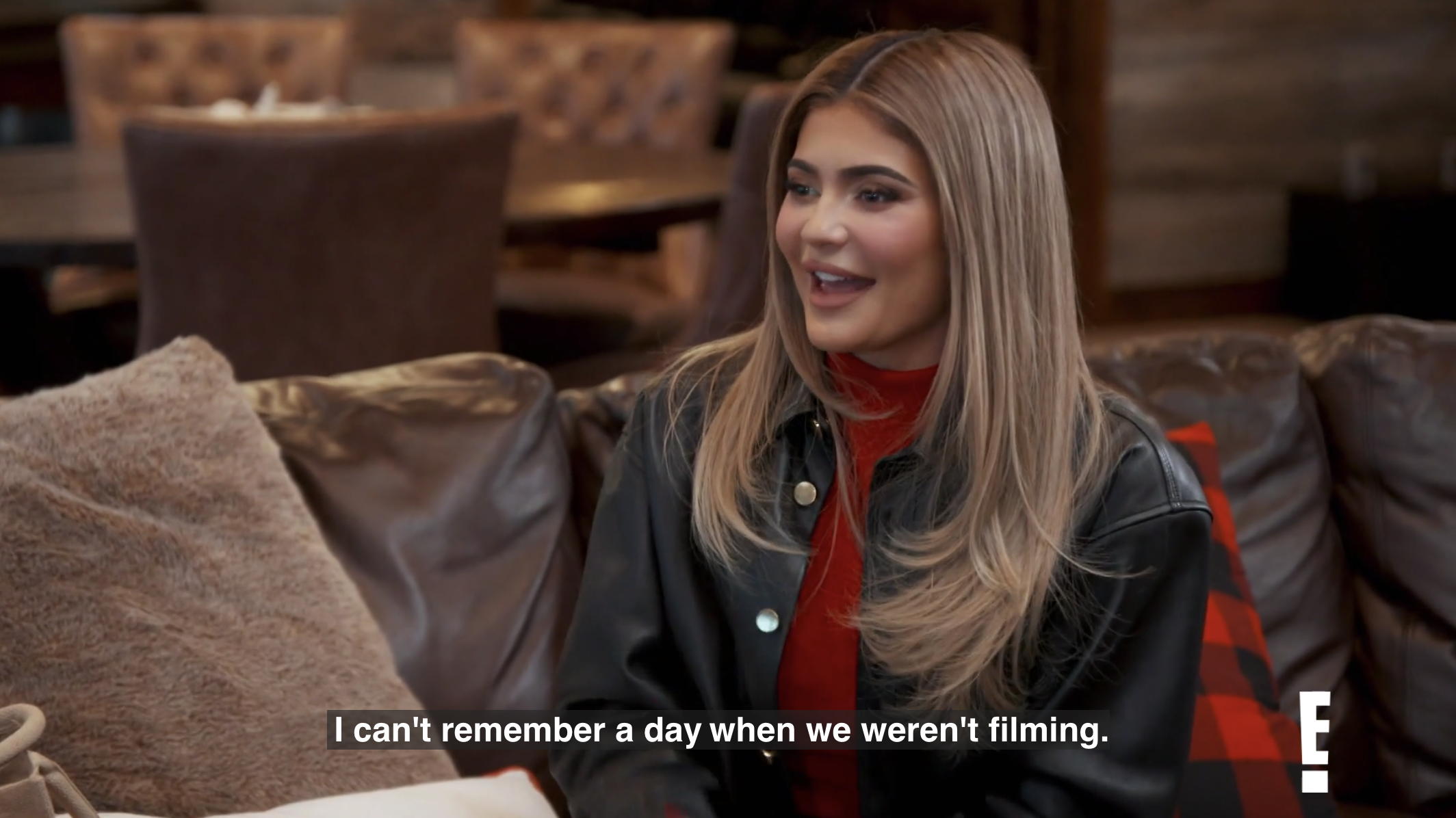 """Kylie: """"I can't remember a day when we weren't filming"""""""