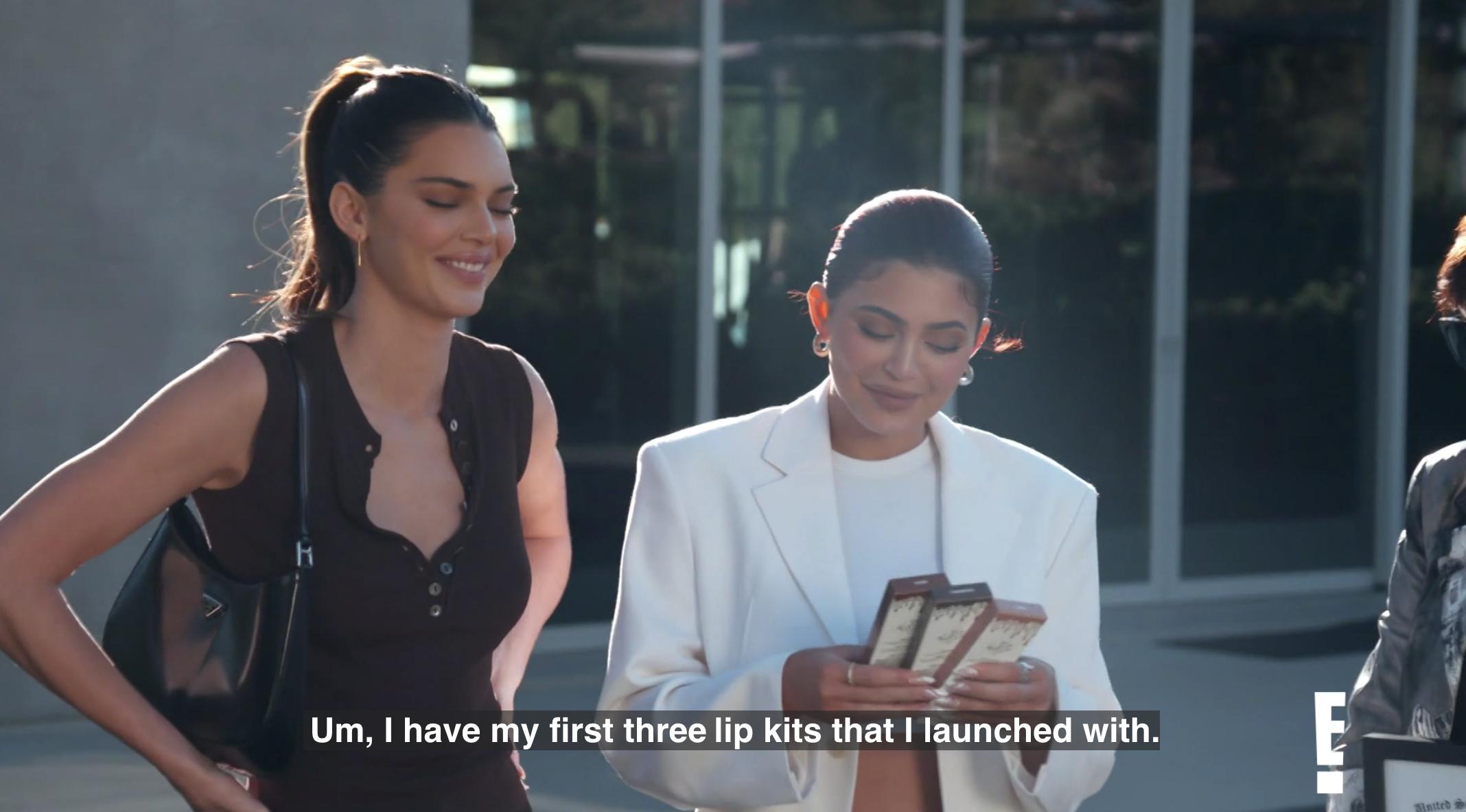 Kylie's lip kits