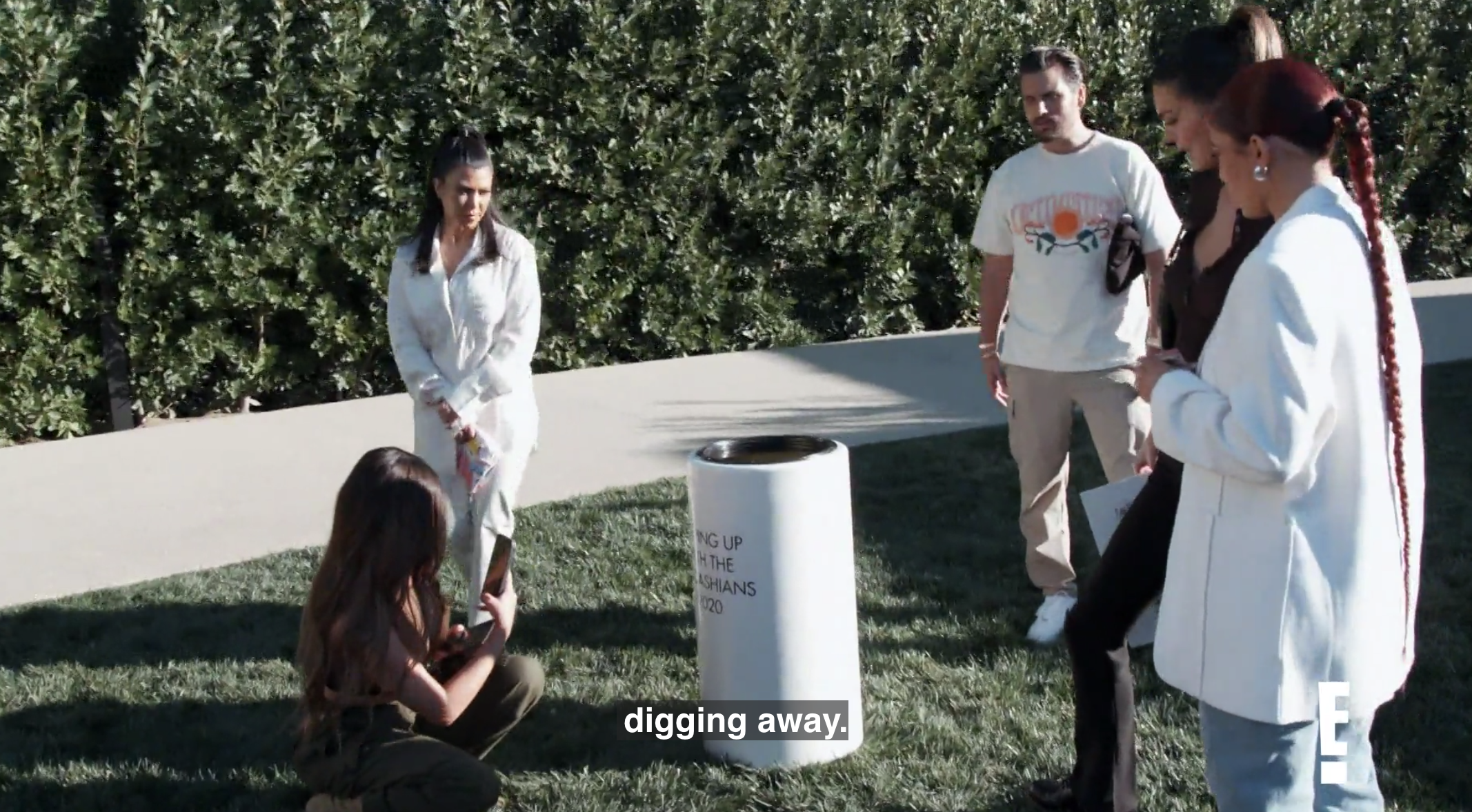 Kim's backyard