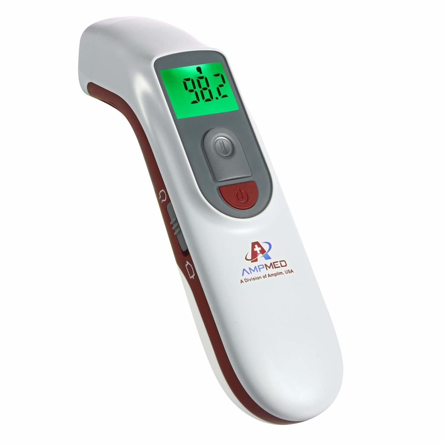 The thermometer with the display on
