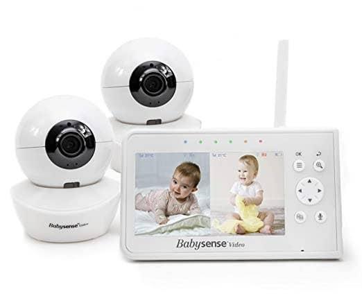The baby monitor and camera
