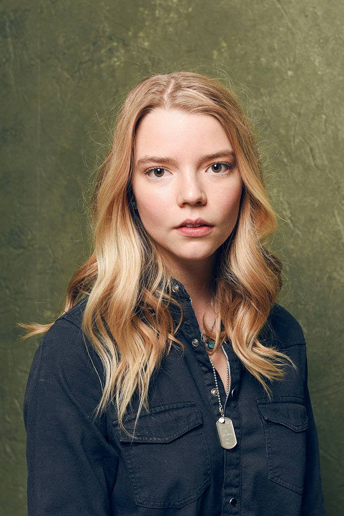 """Anya Taylor-Joy of """"The Witch"""" poses for a portrait at the Village at the Lift"""