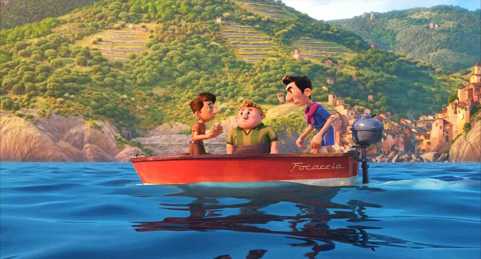 """Easter Eggs And Details From Pixar's """"Luca"""""""