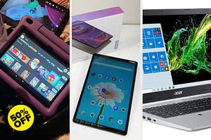tablets and laptop
