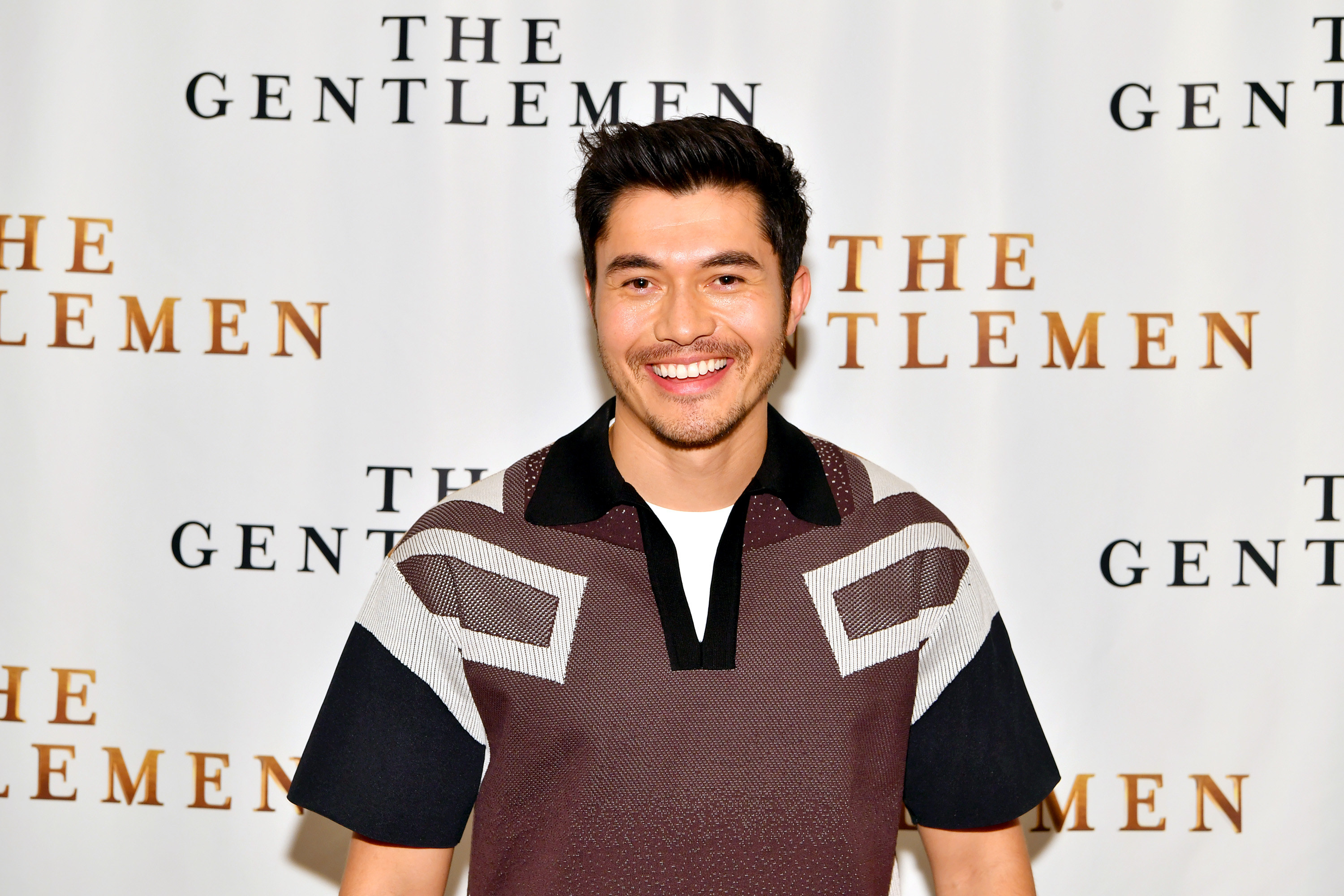 """Henry Golding attends the NY Photo Call for """"The Gentlemen"""" at The Whitby Hotel on January 11, 2020 in New York City"""