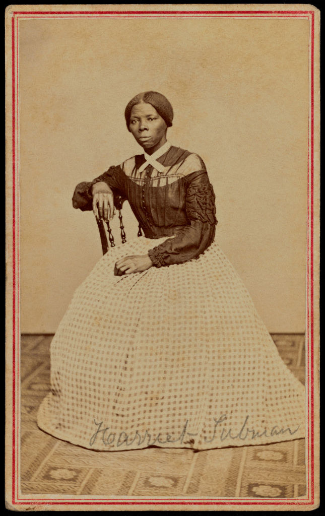 A portrait of a young Harriet Tubman