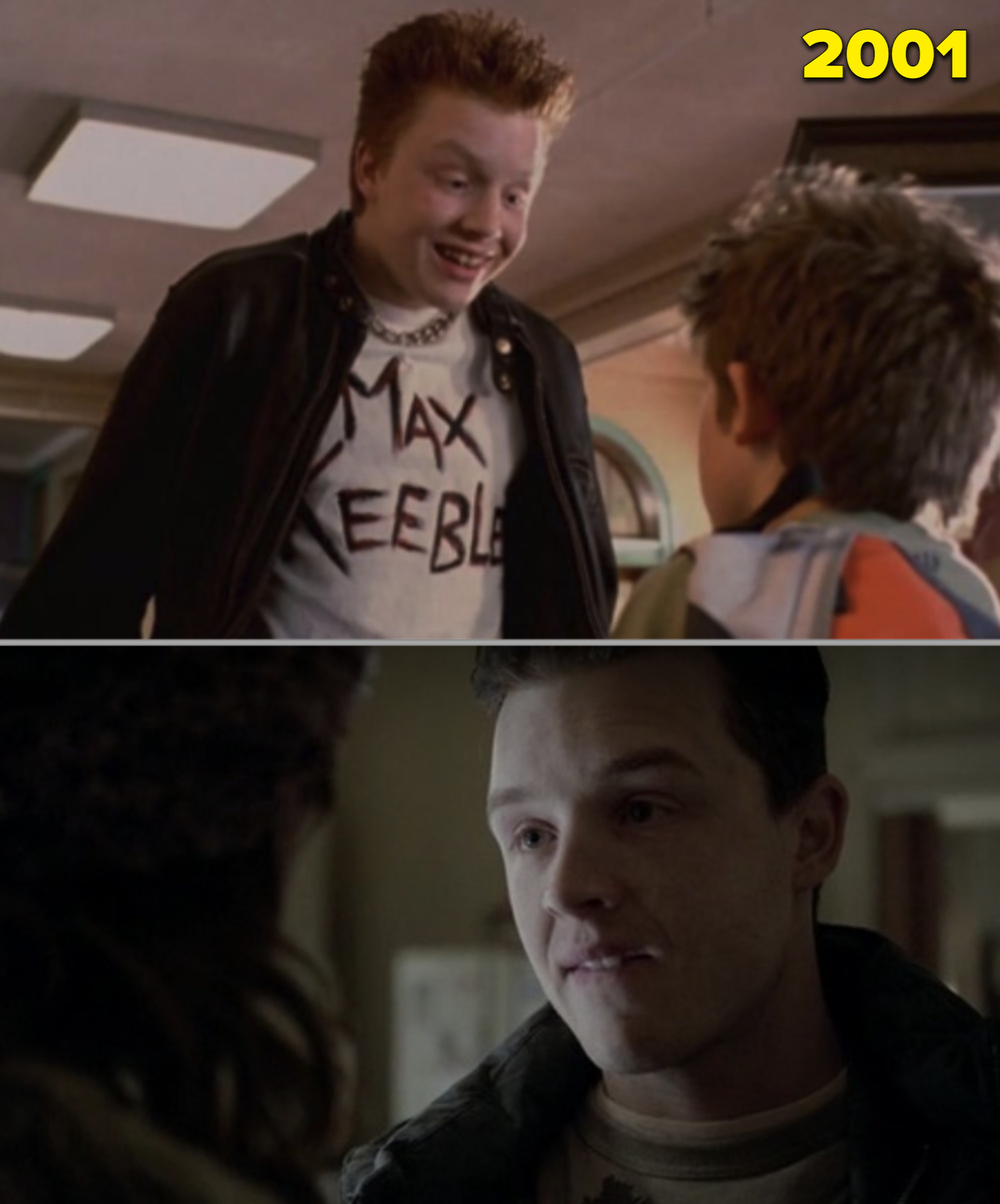 """Noel Fisher as a kid vs. him as an adult in """"Shameless"""""""