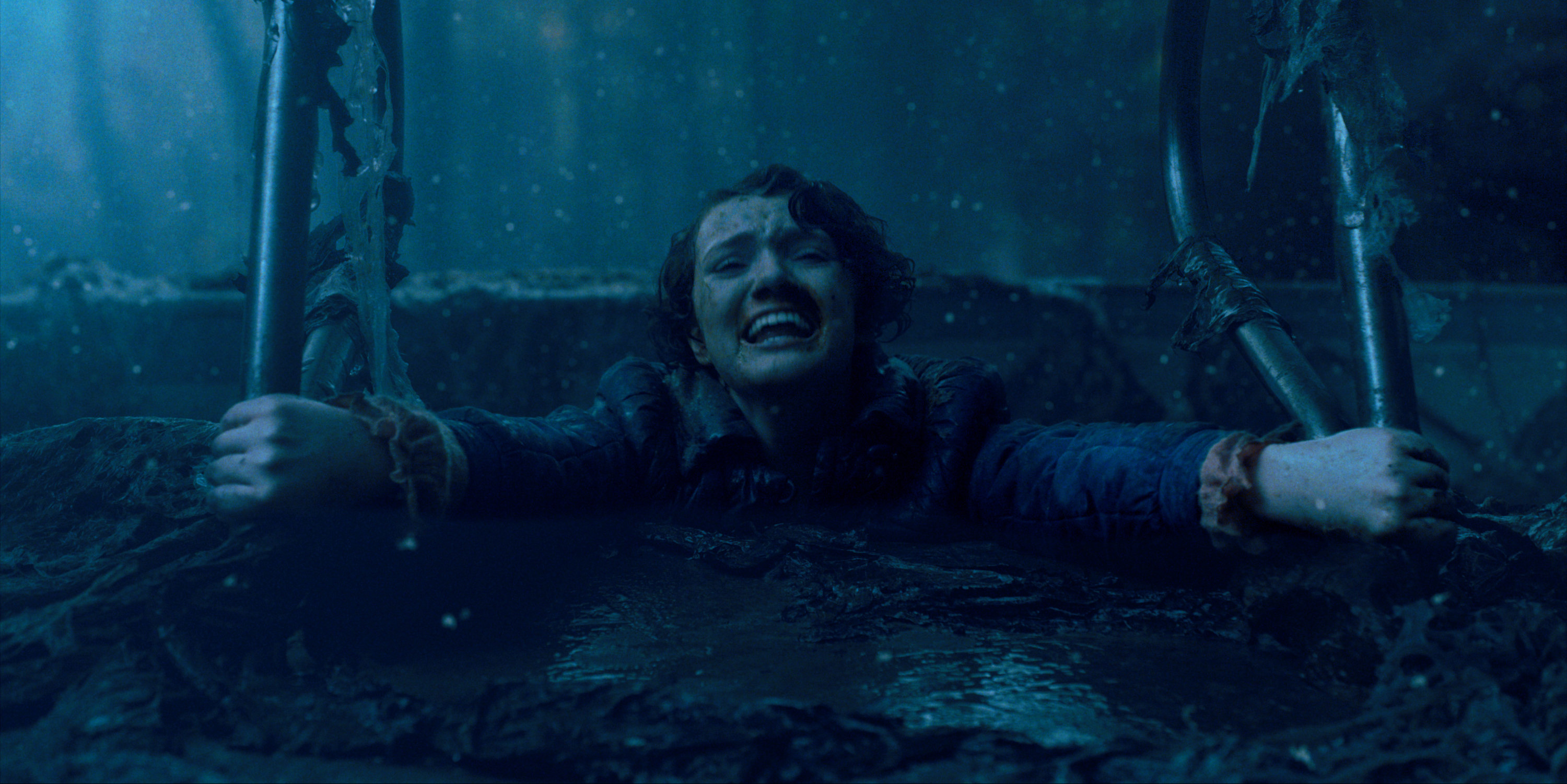 """Barb being pulled into the upside down in """"Stranger Things"""""""