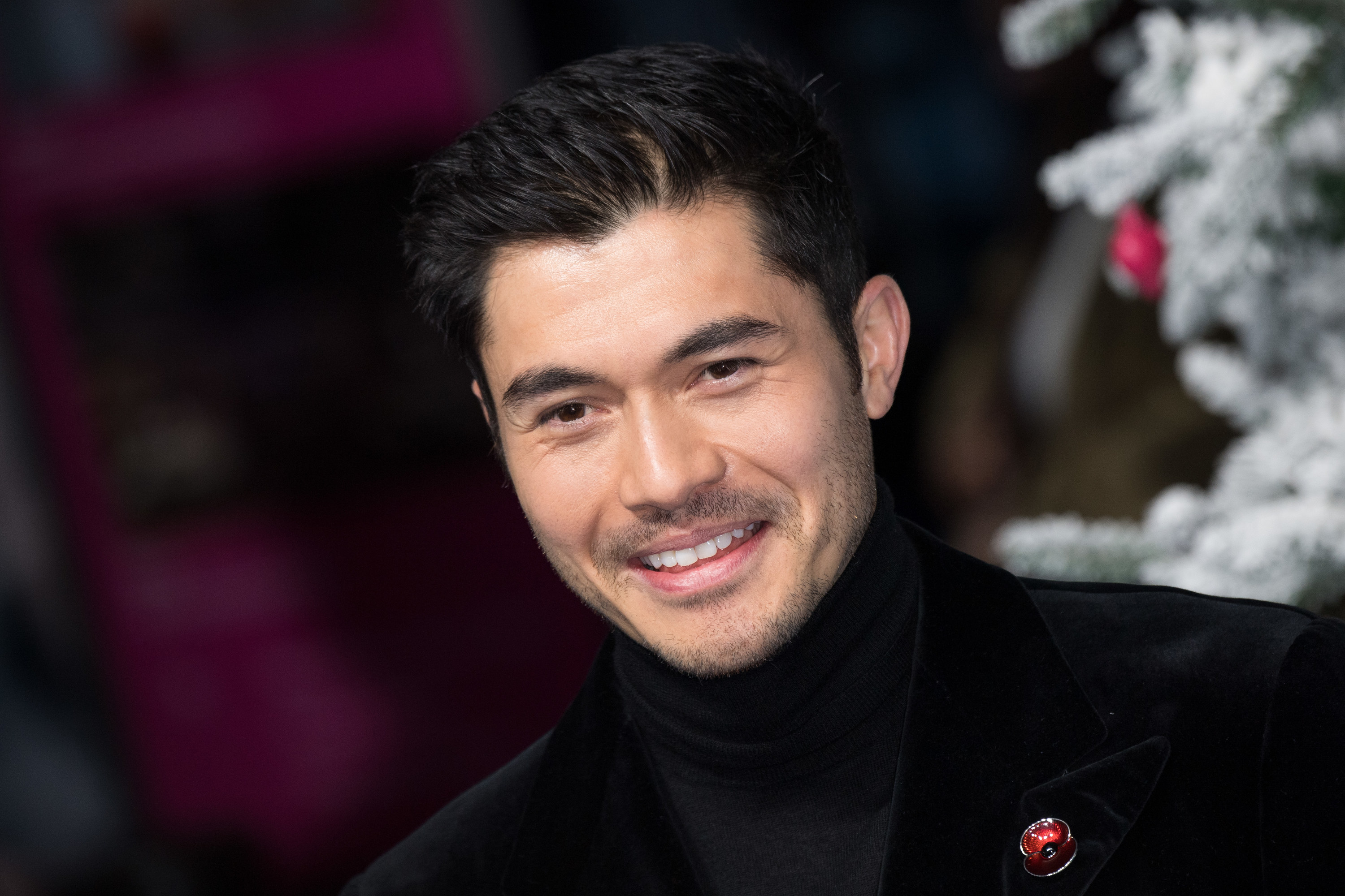 """Henry Golding attends the """"Last Christmas"""" UK Premiere at BFI Southbank on November 11, 2019 in London, England"""