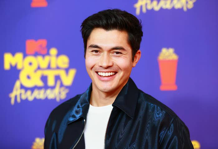 Henry Golding attends the 2021 MTV Movie & TV Awards at the Hollywood Palladium on May 16, 2021 in Los Angeles, California