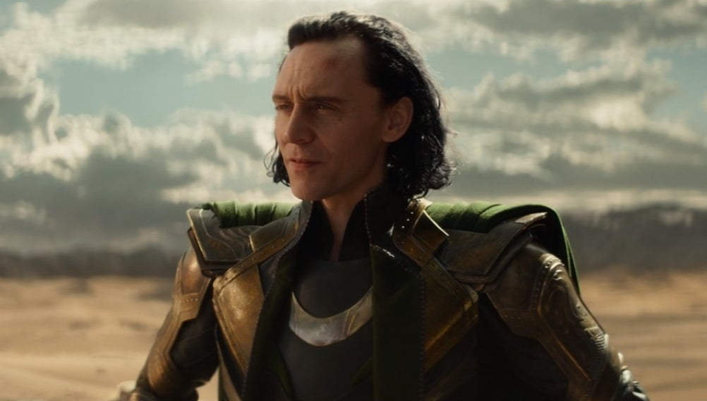 Loki looking into the distance