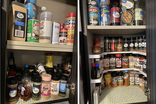 27 Storage Products With Before-And-After Photos That Will Spark Major Joy
