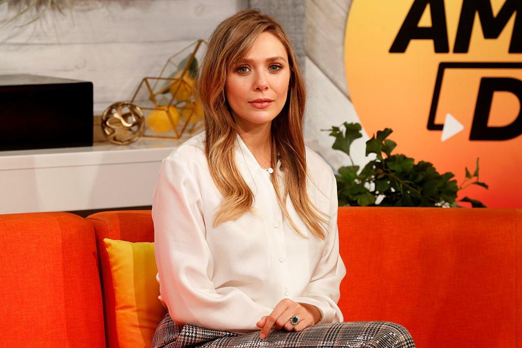 """Elizabeth Olsen attends BuzzFeed's """"AM To DM"""""""