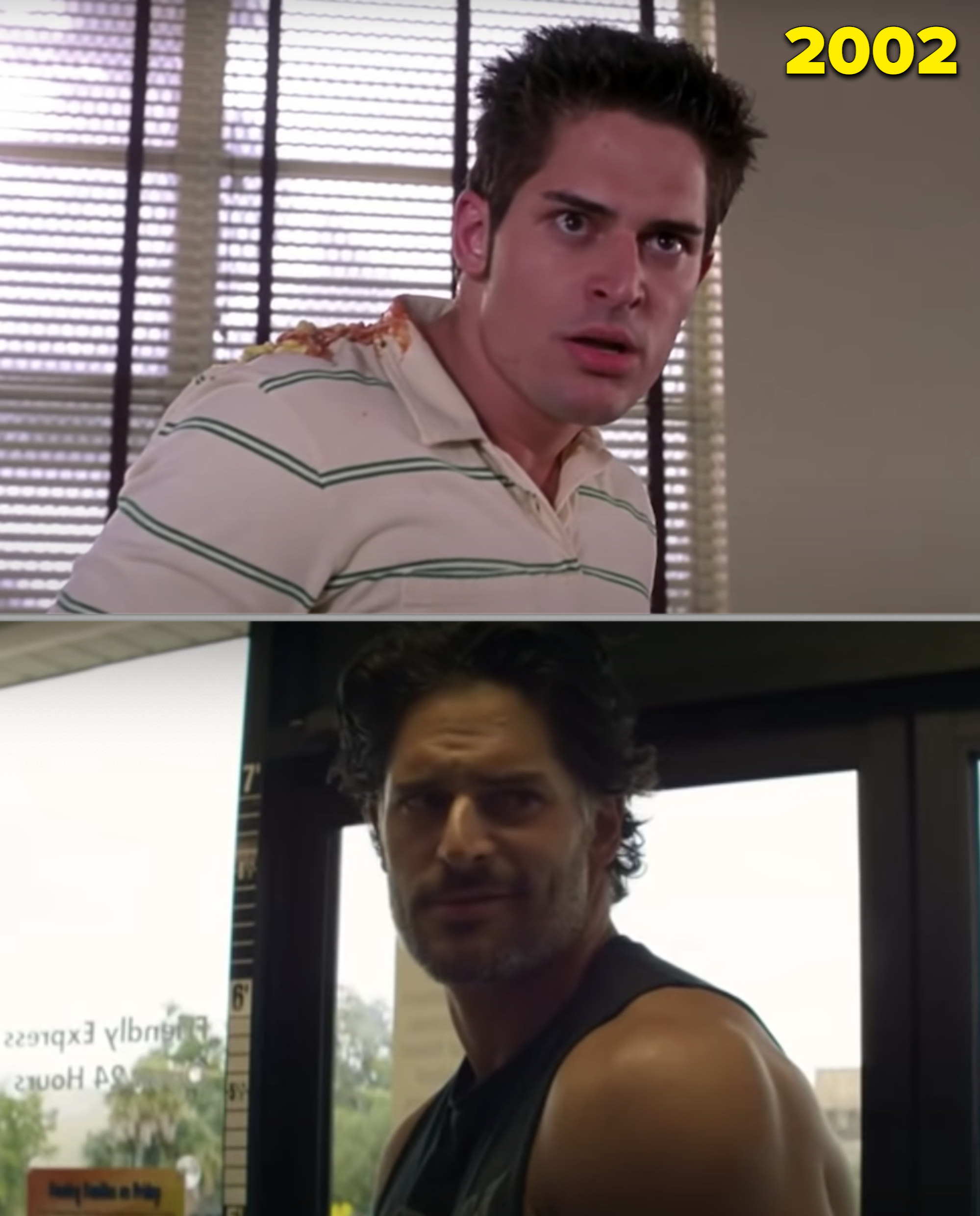 """Joe in a fight with Peter Parker vs. stripping at a gas station in """"Magic Mike XXL"""""""