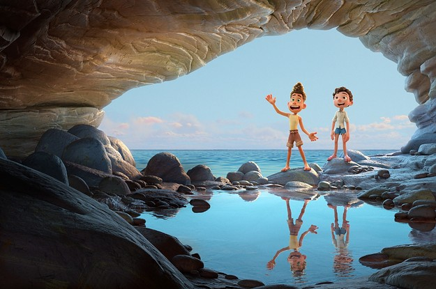 """Luca And Alberto From Pixar's """"Luca"""" Are The BFFL Duo Of The Summer"""