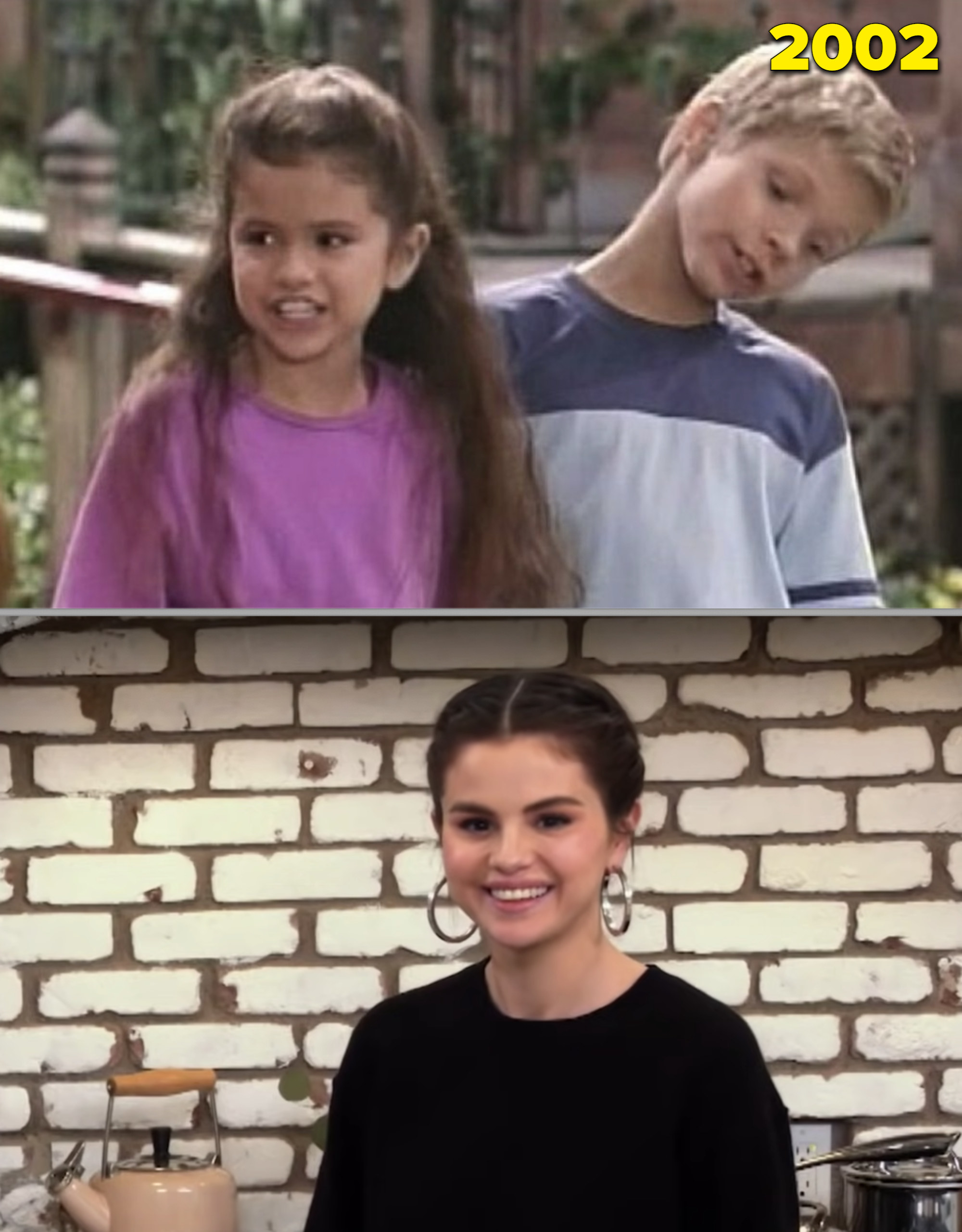 """Selena Gomez on """"Barney"""" as a kid vs. her own cooking show in 2021"""