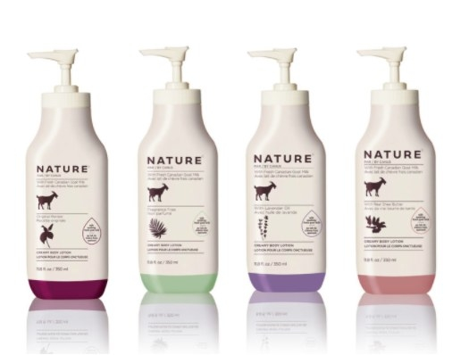 Creamy, Goat Milk Infused Body Lotion from Nature By Canus