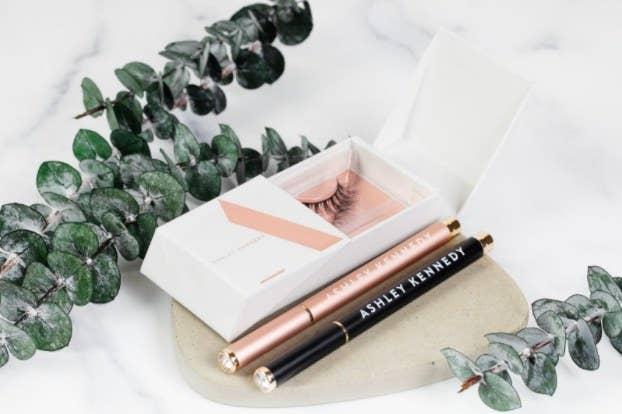 Vegan Lash Adhesive Pen and Lash Duo by Ashley Kennedy