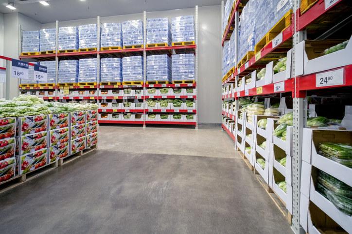 A bulk warehouse store