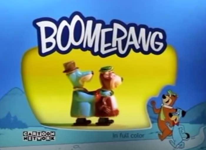 A still from Boomerang on the Cartoon Network