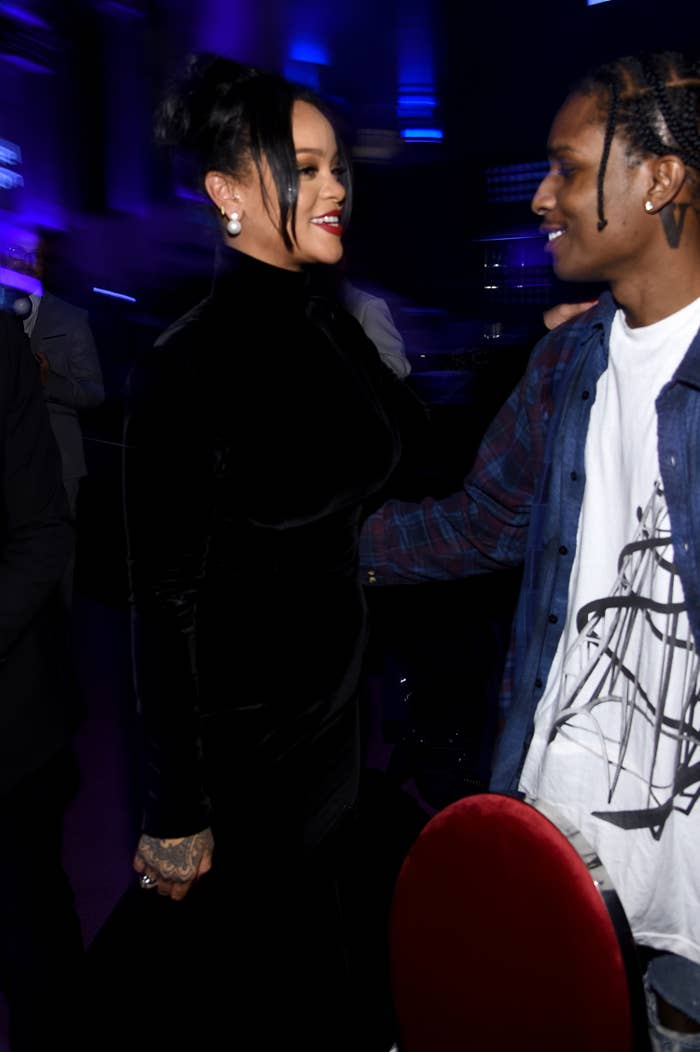 Asap rocky has dated who Full list