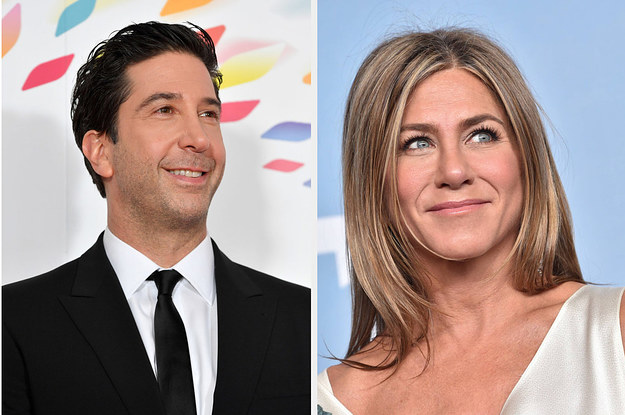 Jennifer Aniston Was Asked About Any Potential Romance With David Schwimmer And She Had The Best Response