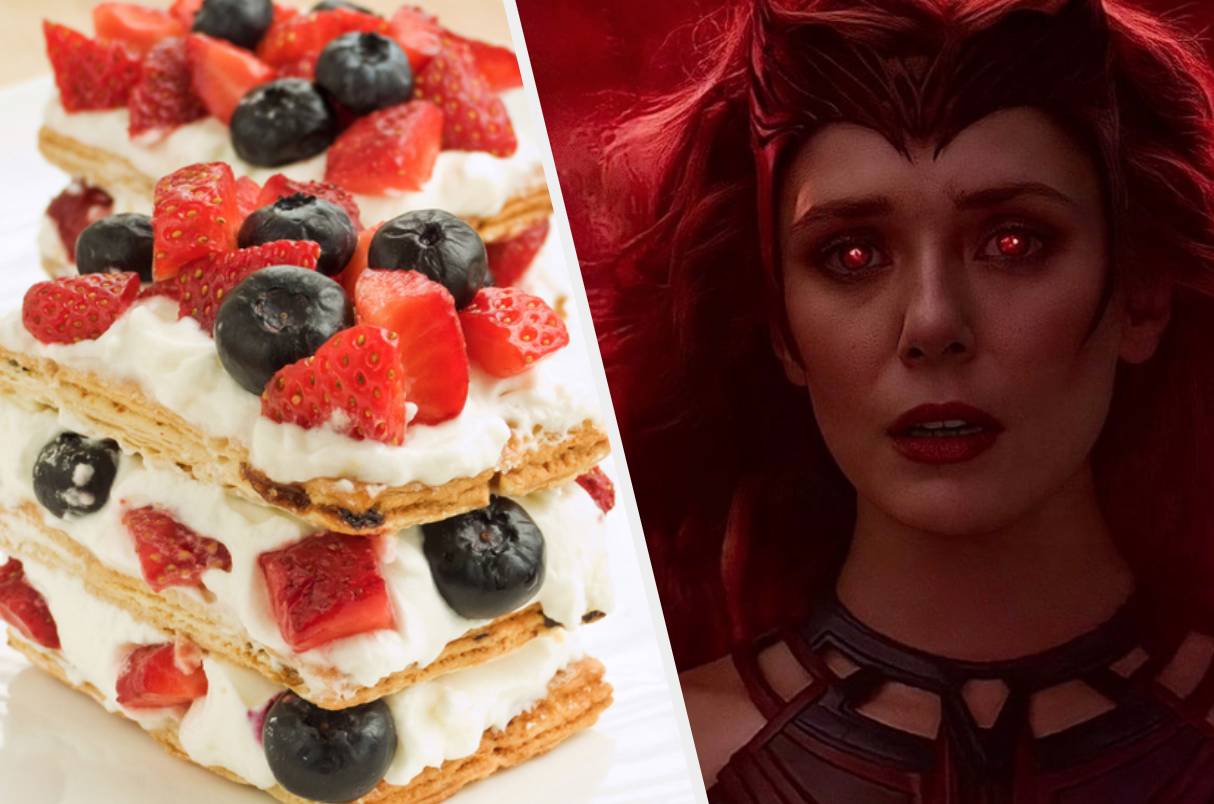 Strawberry Mille Feuille and Scarlet Witch