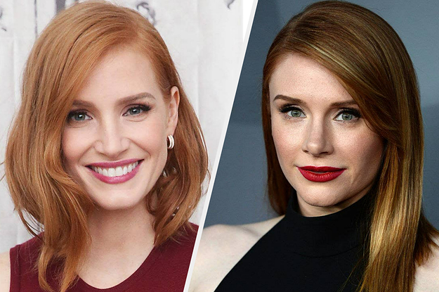 Jessica Chastain Posted A Hilarious TikTok Asking People To Stop Comparing Her To Bryce Dallas Howard