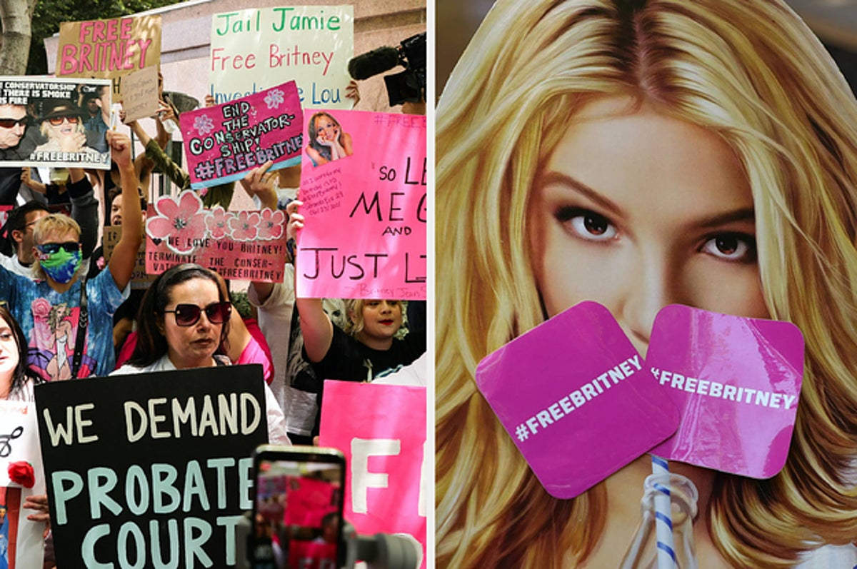 Britney Spears #FreeBritney Fans Reflect On Conservatorship Hearing