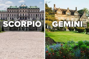 Two mansions – one being a Scorpio and the other a Gemini