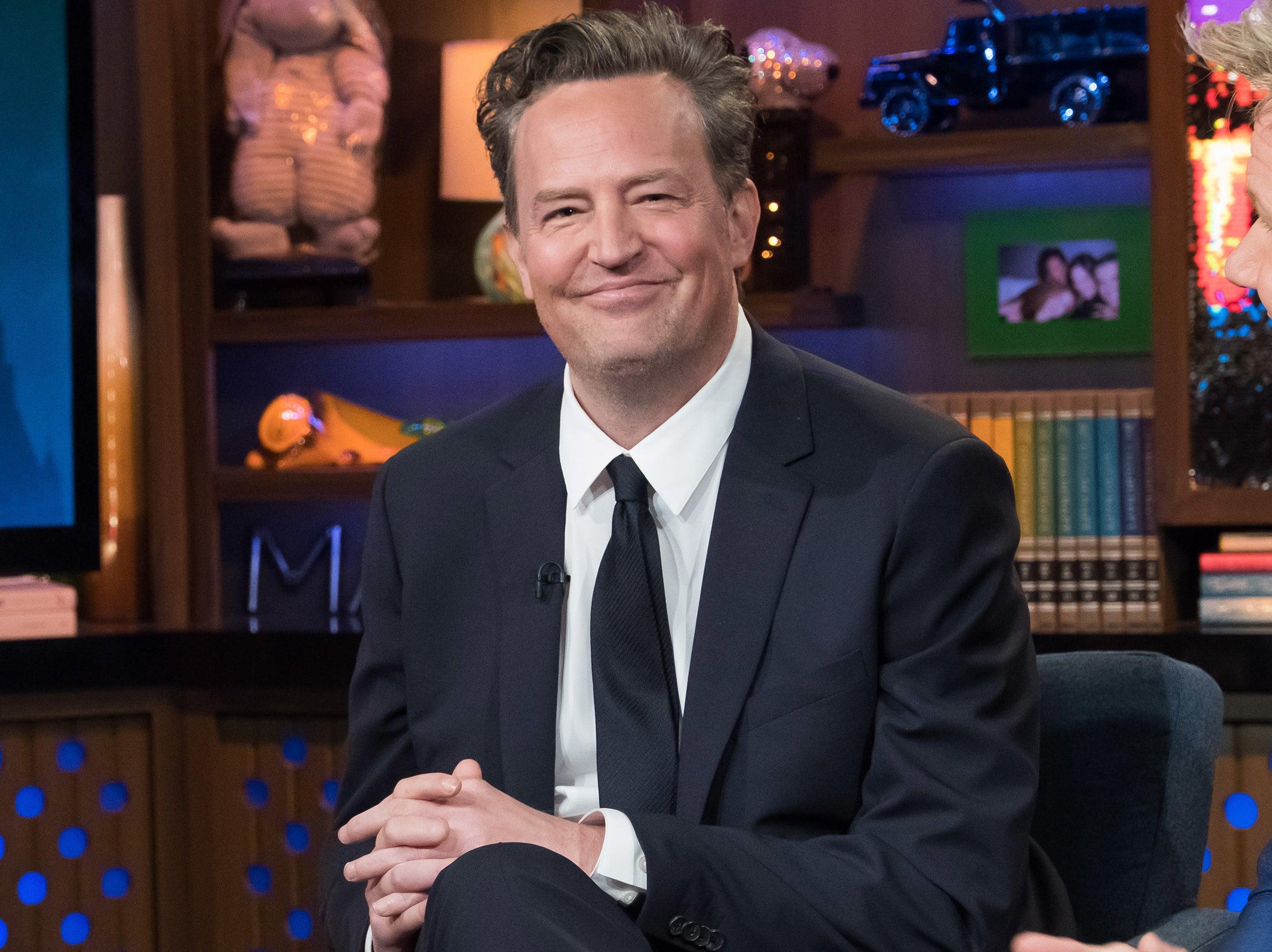 Matthew smiles during a recent interview