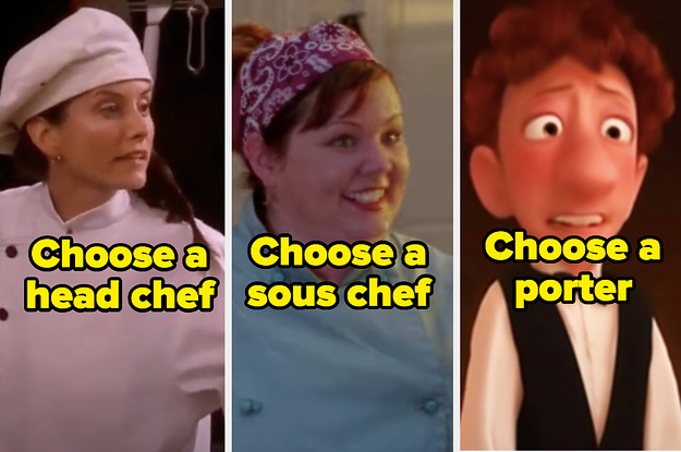 Assemble A Team Of TV And Movie Restaurant Staff And We'll Tell You The Exact Rating Your Restaurant Would Get