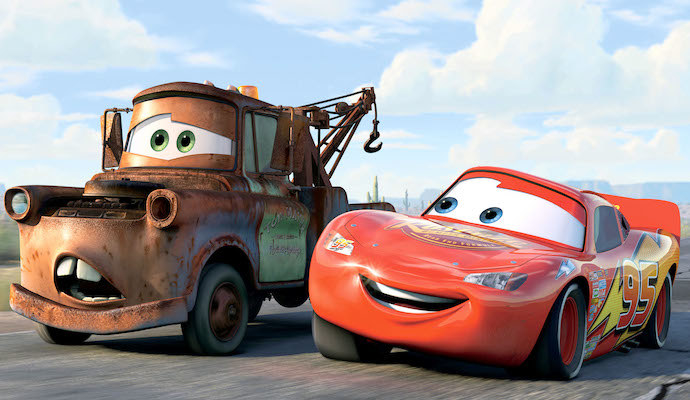 Mater is confused and Lightning is bemused.