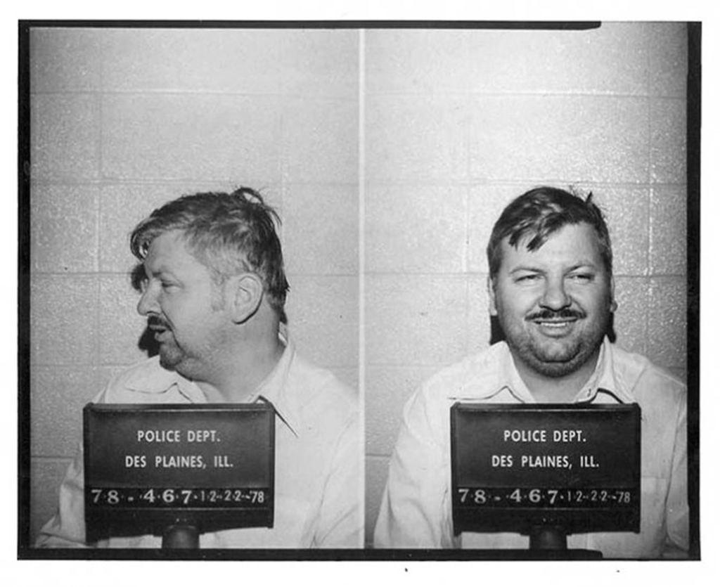 Police mugshot for John Wayne Gacy