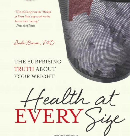 """""""Health at every size"""" book cover"""