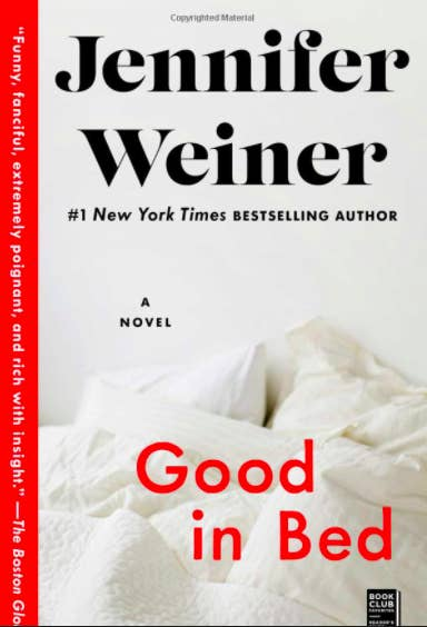 """""""Good in Bed"""" book cover"""