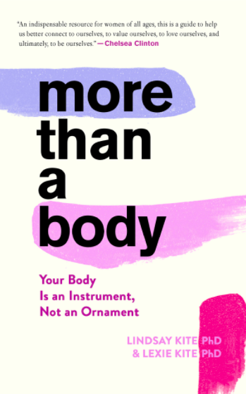 """""""More than a body"""" book cover"""