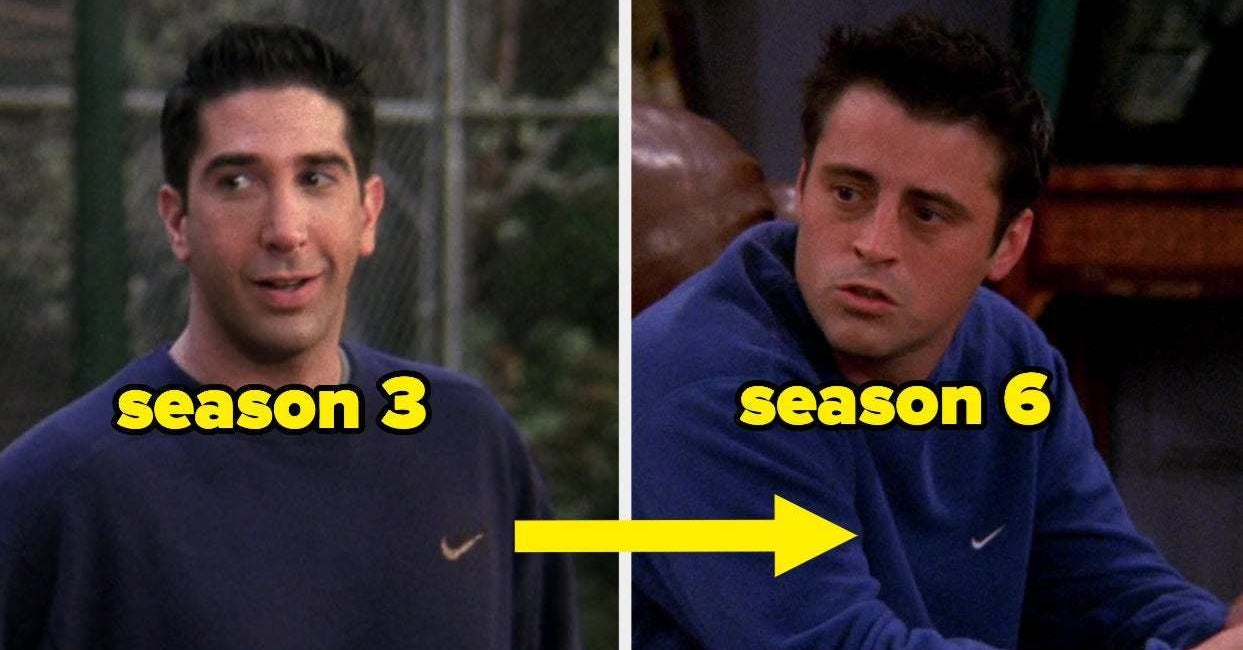 9 Times Friends Characters Were Outfit Repeaters