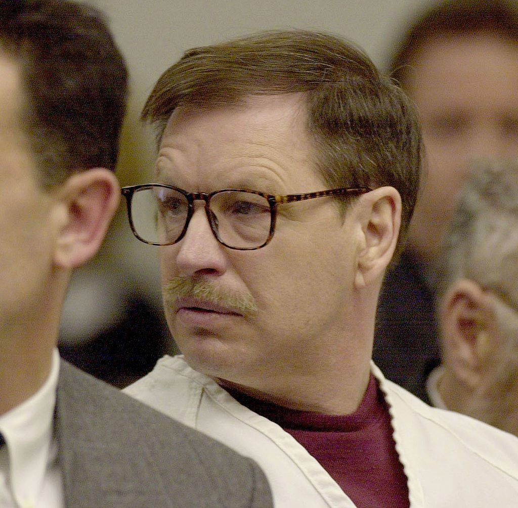 The Green River killer at his trial